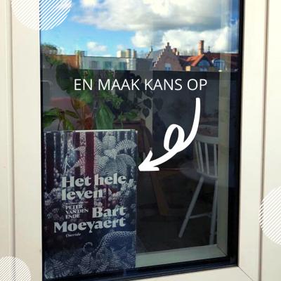 Win een exemplaar van 'Het hele leven' van Bart Moeyaert